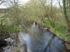 River Blackwater Downstream from Road Bridge