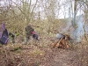 Work Party | Totham Pit | Clearing/Burning dead/fallen trees behind colliers bay