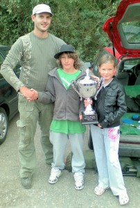 Kelvin Willis Winner of Tony Druce Memorial Trophy